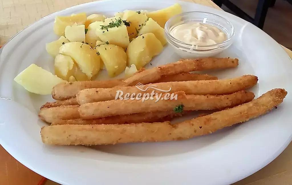 Smažený chřest s máslem recept  zeleninové pokrmy