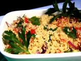 Kuskusový salát  tabbouleh recept