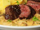 Hovězí steak  Stroganoff  ( Stroganov ) recept