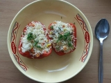 Papriky plněné rýží recept