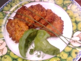 Cuketové placičky s mrkví a vločkami recept