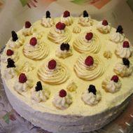 Mandlový krémový dort recept