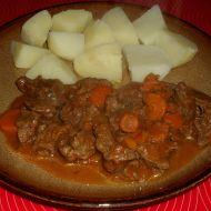 Hovězí s mrkví recept