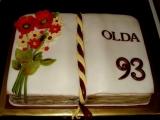 Dort k 93. narozeninám recept