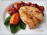 Kuřecí prsa v meruňkovici, s pikantním ovocným přelivem recept ...