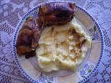 Pečené kuřecí závitky. recept