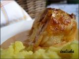 Kuřecí stehýnka plněná Hermelínem recept
