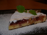 Rebarborovo švestkový koláč recept