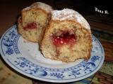 0Řechová bábovka s marmeládovým srdcem recept