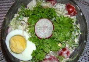 Macho sváteční salát