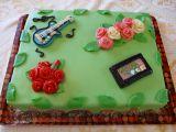Velký dort pro tři oslavence recept