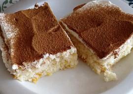Mandarinkový koláč s tvarohovým krémem recept