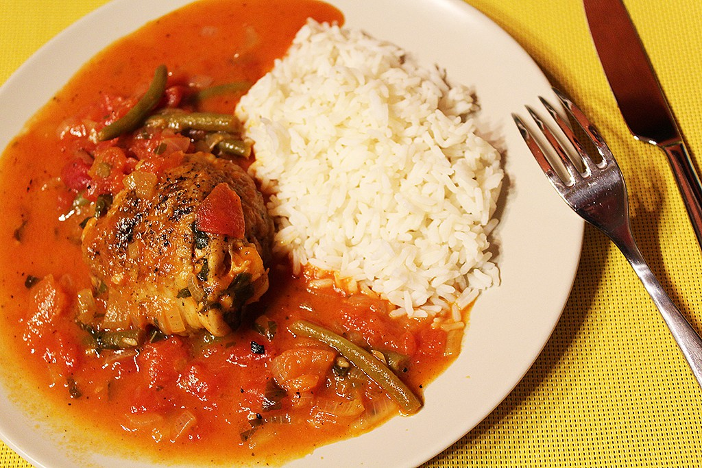 Dušené kuře po italsku recept