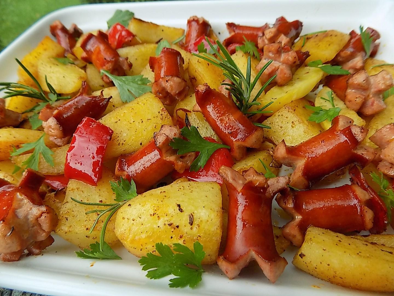 Pečené debrecínské brambory recept