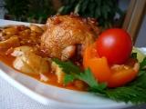 Kuře na pikantní čočkové omáčce recept
