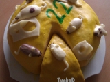 Myší dort recept