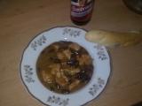 Kureci rychlo gulas z fazolemi recept