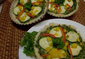 Dortíčky se zeleninou