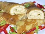 Slané palačinky s balkánským sýrem recept