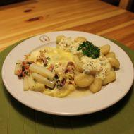 Chřest se šunkou a sýrem recept