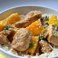 Kuře s mangem recept
