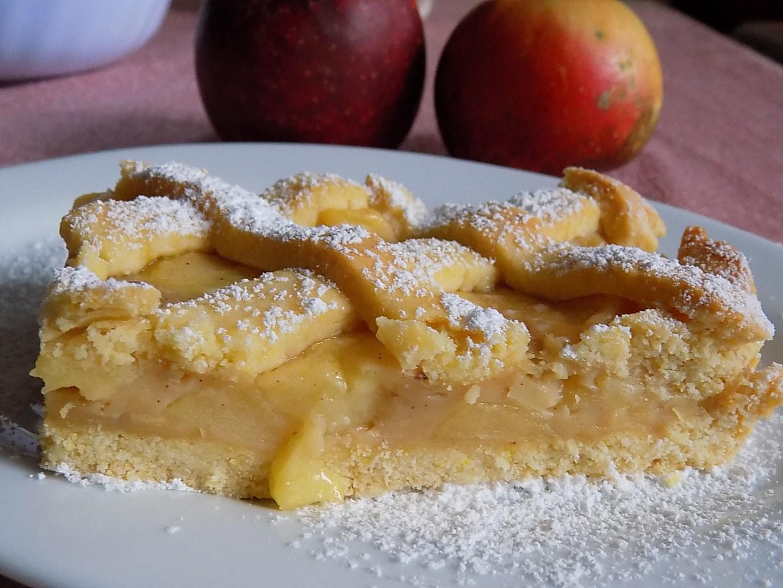 Jablečný koláč s karamelem recept