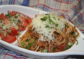 Boloňské špagety  zdravá verze recept