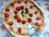 Sýrový koláč ala pizza od kamarádky recept