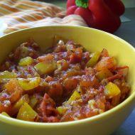Zeleninová směs s česnekem recept