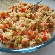 Rýžový salát s cuketou recept