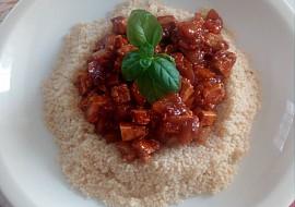 Kuskus s tofu a zeleninou recept