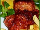 Kuřecí stehna s červeným kabátkem recept