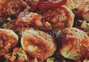 Rybí karbanátky na zelenině