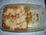 Lasagne zapečené s masem recept