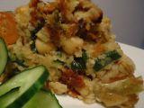 Nádivka z cizrny, pórku a mrkve recept