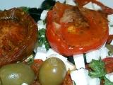 Salát z pečených rajčat recept
