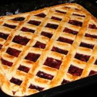 Mřížkový linecký koláč recept