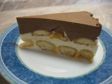 Nepečený smetanový dortík