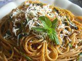 Špagety s mátovou omáčkou recept