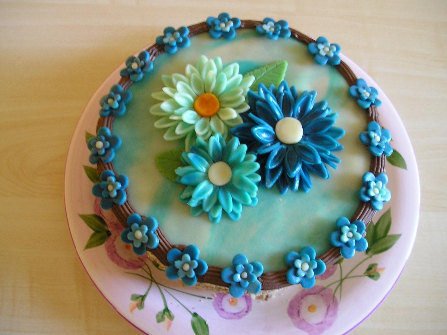 Kytičkový dort recept