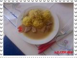 Pikantní vepřové s kari rýží recept