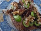Kuřecí s ořechy a bylinkami recept