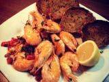 Pikantní krevety recept