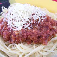 Chorvatská omáčka na špagety recept