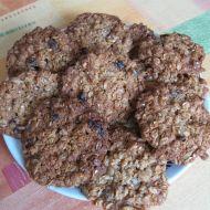 Křupavé vločkové sušenky recept