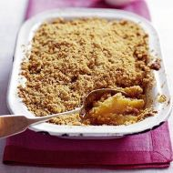 Crumble recept