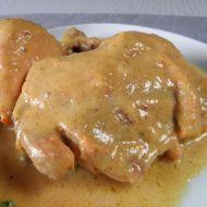 Dušené kuře se zeleninovou omáčkou recept