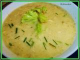 Krémová řapíkatá polévka s brokolicí... recept