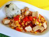 Tofu na víně recept