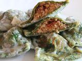 Špenátové ravioli s krůtím masem a přelivem z modrého sýra recept ...